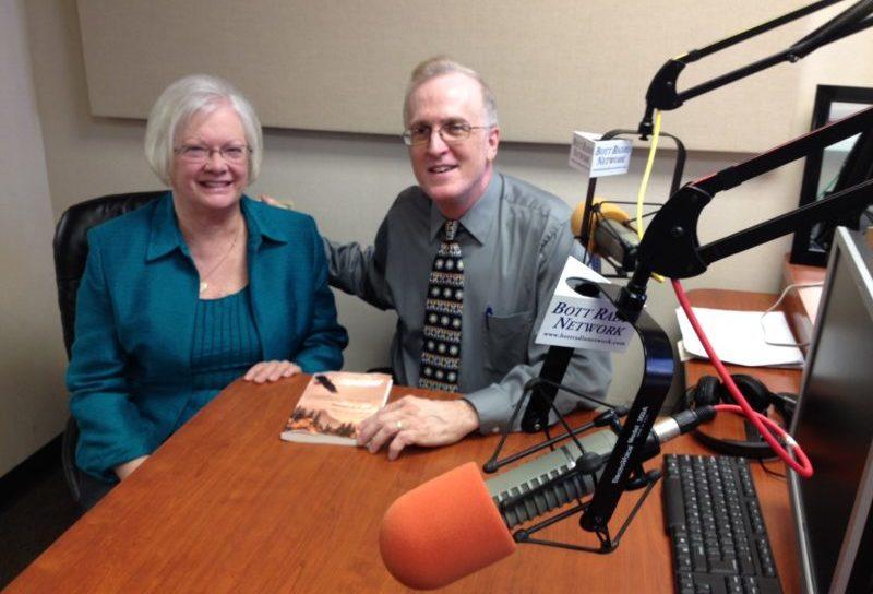 Bill Kuntz with Kay in the studio