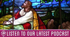 Jesus in the Garden of Gethesmane